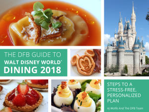 2018 Disney Food Blog Guide to WDW Dining