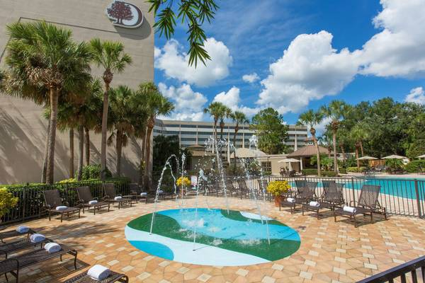 Water Play Area at DoubleTree Suites Walt Disney World