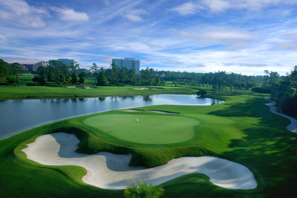 Hilton Bonnet Creek Golf Course 600x400