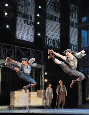 Jumping Newsies