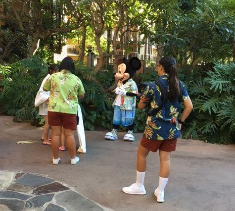 Aloha Mickey!