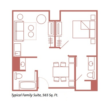 Art of Animation Family Suite Floorplan. MouseSavers com   Disney World Resort Reviews  Best Values at Disney
