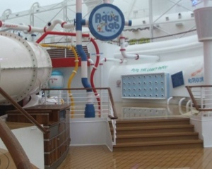 Aqua Lab entrance on the Disney Fantasy