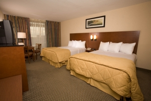 Standard double room at Best Western Lake Buena Vista