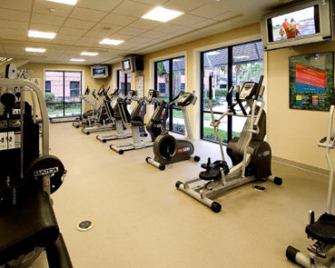 Ground Floor - Cardio equipment at Caribe Royale Fitness Center