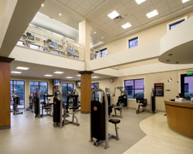 Atrium-style architecture makes your workout a pleasure at Caribe Royale