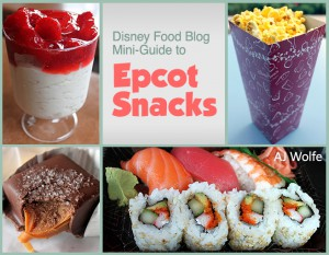 DFB Epcot Snacks