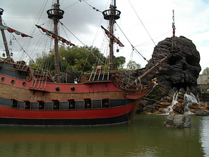 Hook's Ship and Skull Rock