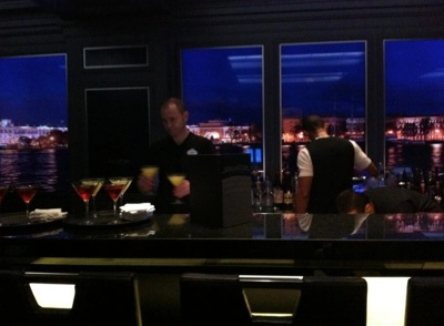 Skyline Bar on the Disney Fantasy