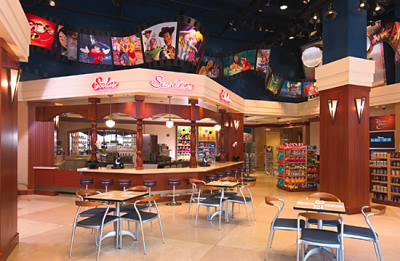 Interior of Disney's Soda Fountain