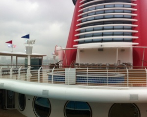 New family splash pool on the Disney Fantasy