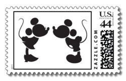 Disney stamps from Zazzle