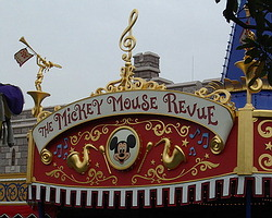 The Mickey Mouse Revue - sign