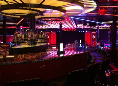 The Tube night club on the Disney Fantasy